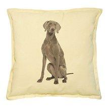 Vietsbay's Weimaraner Prints Khaki Decorative Throw Pillows Cover Case VPLC - $15.99