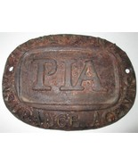 PIA MARK: Professional Insurance Agents - Fire /Casualty- SIGN/MARKER - $98.99