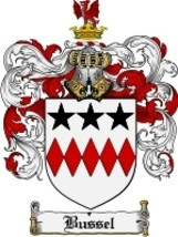 Bussel Family Crest / Coat of Arms JPG or PDF Image Download - $6.99