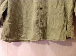 Cord Cotton Collection Ezze Wear Womens Button Up Shirt, Size XL image 4
