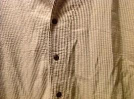 Cord Cotton Collection Ezze Wear Womens Button Up Shirt, Size XL image 6