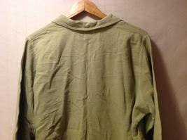 Cord Cotton Collection Ezze Wear Womens Button Up Shirt, Size XL image 7