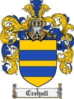 Primary image for Crehall Family Crest / Coat of Arms JPG or PDF Image Download