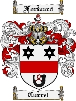 Primary image for Currel Family Crest / Coat of Arms JPG or PDF Image Download