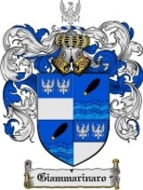 Giammarinaro Family Crest / Coat of Arms JPG or PDF Image Download - $6.99