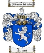 Jones Family Crest / Coat of Arms JPG or PDF Image Download - $6.99