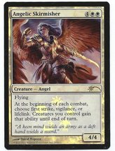 Magic The Gathering MTG Foil Angelic Skirmisher Promo Walmart Card A11 -... - $2.50