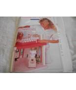 Plastic Canvas Fashion Doll Playhouse Pattern - $32.00