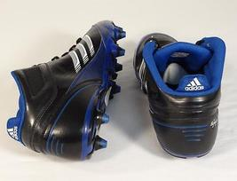 Football Scorch Mid amp; NWT Mens Black X Blue Adidas Cleats D wfIqIFC
