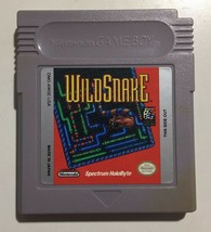 Wild Snake Nintendo Game Boy Vintage 1994 Game Cartridge Only - $9.90