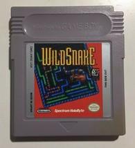 Wild Snake Nintendo Game Boy Vintage 1994 Game Cartridge Only - $11.87