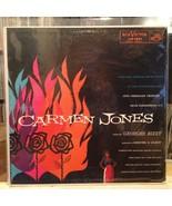 "{OST}~VG+/EXC LP~""CARMEN JONES""~[Georges Bizet]... - $5.84"