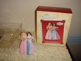 Hallmark 2004 Barbie As The Princess And Pauper Ornament - $12.49