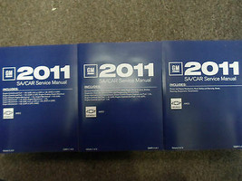 2011 CHEVY AVEO A V E O Service Shop Repair Workshop Manual SET FACTORY - $316.75