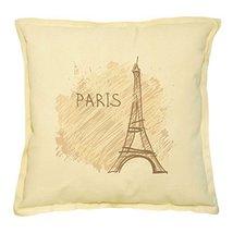 Vietsbay's Paris, France 2 Prints Khaki Decorative Throw Pillows Cover C... - €13,99 EUR