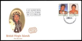 Michael Jackson First Day Cover with Two $1.50 UNISSUED STAMPS - VIRGIN ... - $25.00