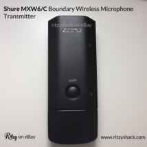 Shure MXW6/C Boundary Wireless Microphone Transmitter [SKU:Shure001] - $199.99