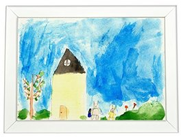 Kid's Drawing 3 - Canvas Wall Art For Wall Decor 11.8x15.7 inch - $36.36