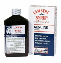2 PACK Lambert Cough Syrup GENUINE FORMULA Large Size 250ml EACH - $25.69