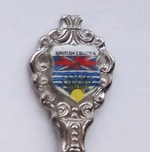 Collector Souvenir Spoon Canada BC Prince Rupert Flag Coat of Arms - $12.99