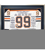 Wayne Gretzky White Career Jersey #99 of 99 - Signed - Edmonton Oilers -... - $19,999.00