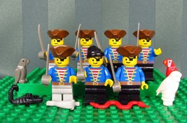 Lego Assorted Pirates Minifig With Weapons~Snake Parrot Owl Minifigures - $39.50
