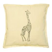 Vietsbay's Giraffe 3 Prints Khaki Decorative Throw Pillows Cover Case VPLC - $15.99