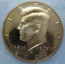 2005-s Clad Deep Cameo Proof Kennedy Half Dollar  - $2.93