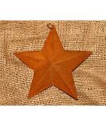 6 inch Rusty Metal Country Star for Home Decor - $4.00