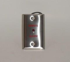 Remote Alarm Control Plate w Light 100031200 NOS - $8.90