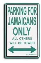 Jamaica Parking Sign - $11.94