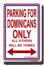 Dominican Republic Parking Sign - $11.94