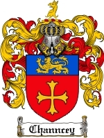 Primary image for Channcey Family Crest / Coat of Arms JPG or PDF Image Download