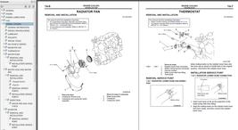 1996-1999 Mitsubishi L200 Truck Factory Service/Workshop Manual PWTE96E1 - $15.00