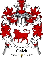 Ciolek coat of arms download