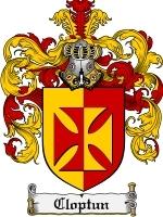 Cloptun coat of arms download