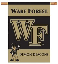 "Wake Forest - 28"" x 40"" 2-sided NCAA Banner - $33.60"