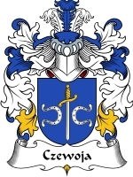 Czewoja Family Crest / Coat of Arms JPG or PDF Image Download