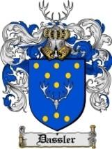 Dassler Family Crest / Coat of Arms JPG or PDF Image Download - $6.99