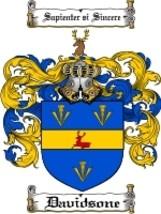Davidsone Family Crest / Coat of Arms JPG or PDF Image Download - $6.99