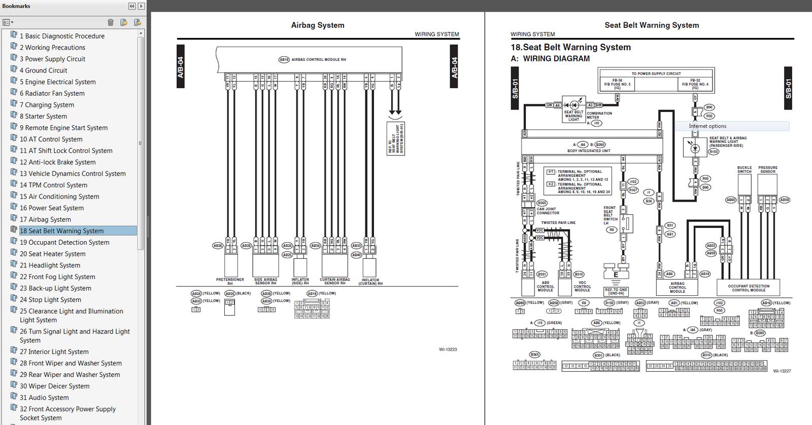 2014 subaru legacy    outback factory repair service manual