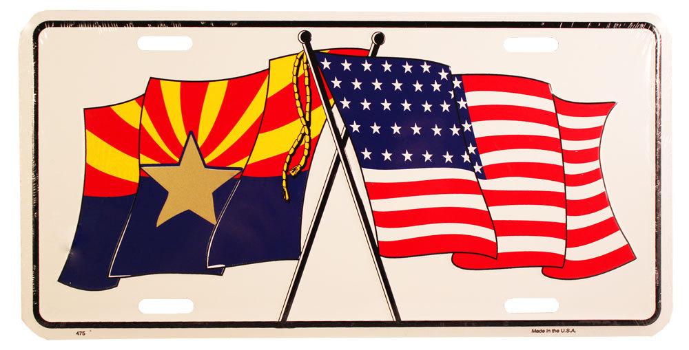 Arizona License Plate (US/Arizona Friendship)