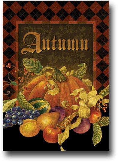 Autumn argyle 9393
