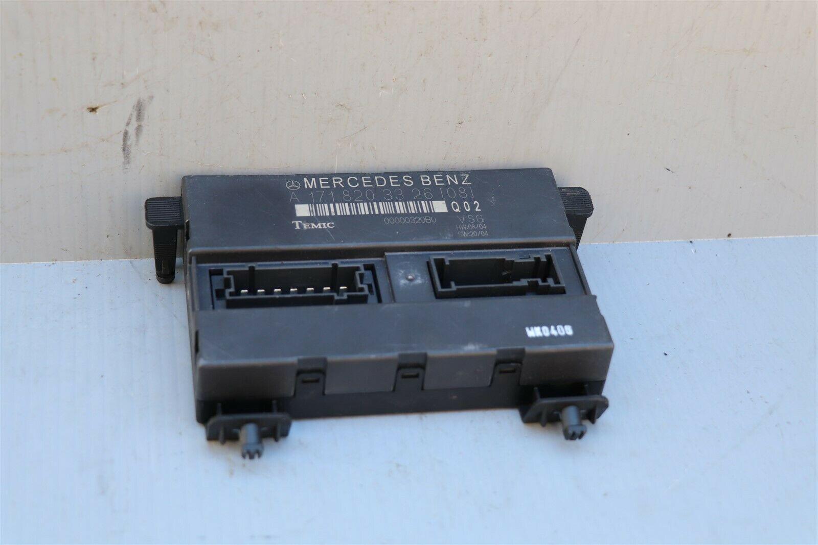 Mercedes R171 Convertible Soft Top Roof Control Module A-171-820-33-26