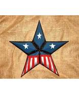 12 inch Metal Patriotic Star No. 1 for Country Home Decor - $12.98