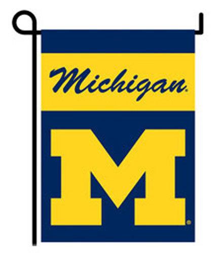 "University of Michigan - 13""x18"" 2-Sided Garden Banner"
