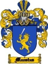 Maestas Family Crest / Coat of Arms JPG or PDF Image Download - $6.99
