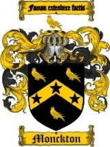 Monckton Family Crest / Coat of Arms JPG or PDF... - $6.99