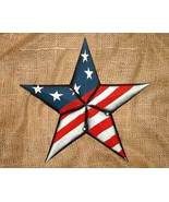 12 inch Metal Patriotic Star No. 2 for Country Home Decor - $12.98
