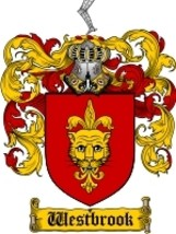 Westbrook Family Crest / Coat of Arms JPG or PDF Image Download - $6.99